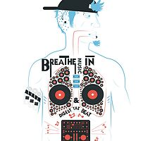 Breathe Music In. by LiamZedDesigner