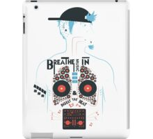 Breathe Music In. iPad Case/Skin
