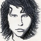 Jim Morrison by Nigel Bangert