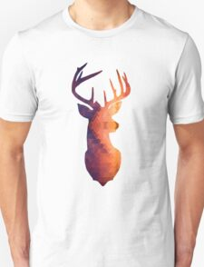 The Stag - Burnt Geometric Unisex T-Shirt