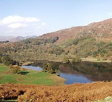 Rydal Water Panorama by GeorgeOne