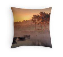 Knapps Sunrise Throw Pillow
