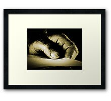 The age old quest for knowledge.. Framed Print