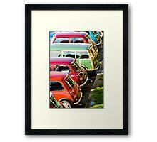 Minis Framed Print