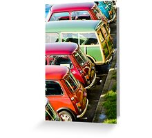 Minis Greeting Card