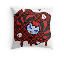 Spunky Reala the Nightmaren Throw Pillow