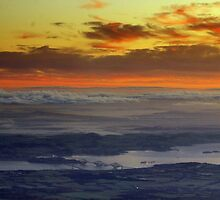 Sunrise over the Firth of Forth and Fife by Kasia-D