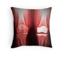 Halfway home... Throw Pillow