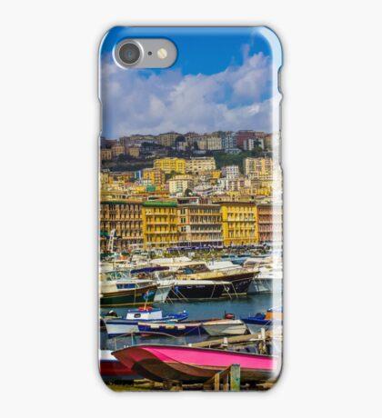 Port in Naples iPhone Case/Skin