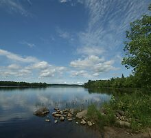 Commanda Lake by Allen Lucas