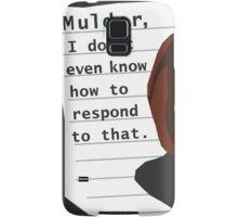 Mulder... Samsung Galaxy Case/Skin