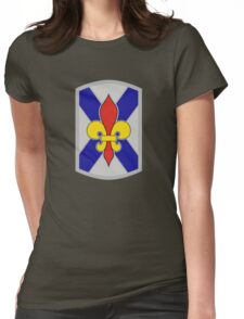 256th Infantry Brigade Combat Team (United States) Womens Fitted T-Shirt