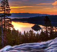 Sunrise at Emerald Bay by Justin Baer
