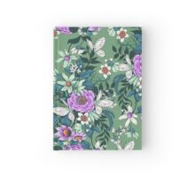 Thea's Garden - green tones Hardcover Journal