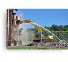 Demolition Day Canvas Print