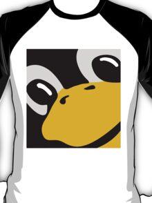 linux tux penguin eyes T-Shirt