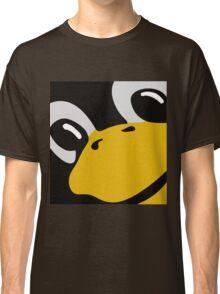 linux tux penguin eyes Classic T-Shirt