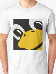 linux tux penguin eyes Unisex T-Shirt