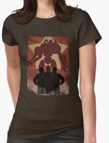 Propaganda Jaeger 4/5 Womens Fitted T-Shirt