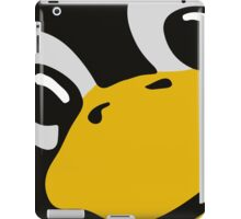 linux tux penguin eyes iPad Case/Skin