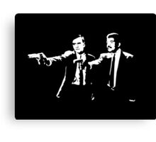 Cosmos Pulp Fiction Canvas Print