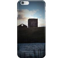 Lithgow Blast Furnace from Lake Pillans Wetland iPhone Case/Skin