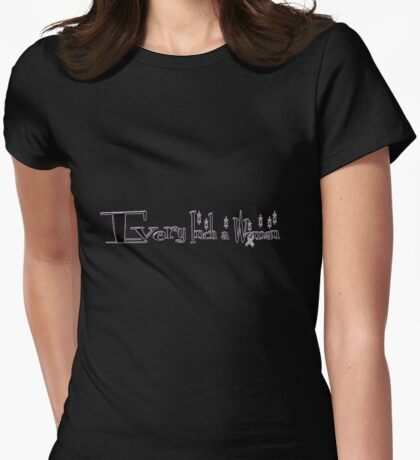 every inch a woman Womens Fitted T-Shirt