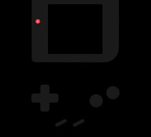 Gameboy black design by smurfted
