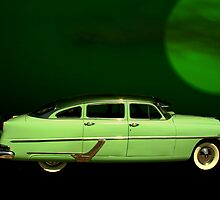 "1954 Hudson ""The Green Hornet""  by TeeMack"