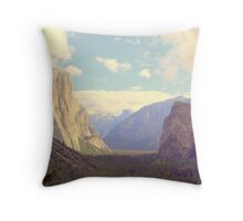 """The Valley"" Throw Pillow"