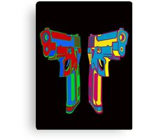 POP GUNS Canvas Print