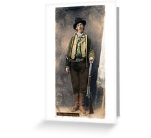 Billy The Kid 1 Greeting Card