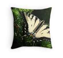 Eastern Tiger Swallowtail Throw Pillow