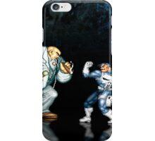 Punisher pixel art iPhone Case/Skin