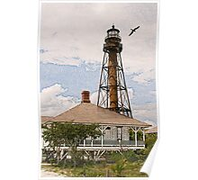 10-139 ~ Lighthouse before the Storm Poster