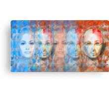 The passage fragment - phases and frequencies Canvas Print