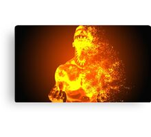 Releasing The Demon Canvas Print