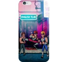 Double Dragon pixel art iPhone Case/Skin