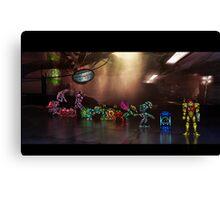 Super Metroid pixel art Canvas Print