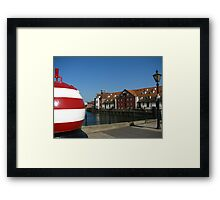 The Bouy and Stoke Maltings, Ipswich Framed Print