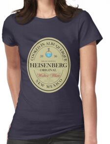 Heisenberg Home Brew Womens Fitted T-Shirt