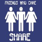 Friends Who Care Share by Leroy Dickson