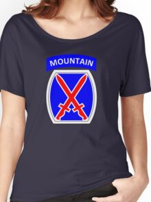 10th Mountain Division (United States) Women's Relaxed Fit T-Shirt