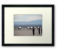 Nellis Air Force Base Framed Print