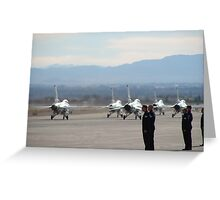 Nellis Air Force Base Greeting Card