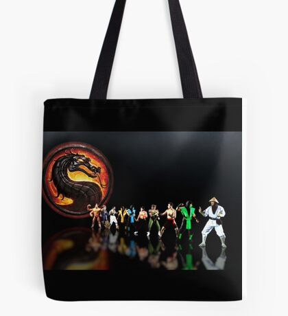 Mortal Kombat pixel art Tote Bag