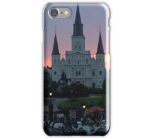 New Orleans at Sunset iPhone Case/Skin