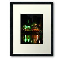 Isaacs at Night, Neptune Quay, Ipswich Framed Print