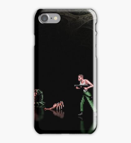 Alien 3 pixel art iPhone Case/Skin