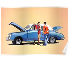 Auto repair in Havana Poster